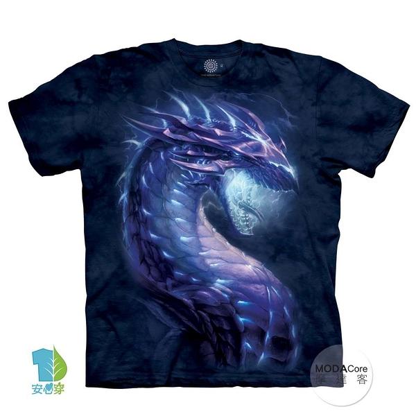 摩達客-(預購)(大尺碼3XL)美國進口The Mountain 風暴龍族 純棉環保藝術中性短袖T恤