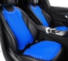 汽車坐墊夏季通用單片製冷靠背涼墊通風透氣...