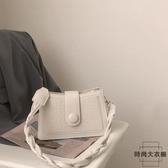 腋下包女包包鏈條小方包小眾設計包百搭斜挎包【時尚大衣櫥】