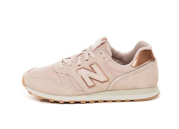 New Balance 女款粉色復古休閒鞋-NO.WL373CC2