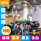 波波球批發 (50個/組)DIY材料 超透明球皮 告白氣球 求婚佈置生日派對(T-396-01-01)