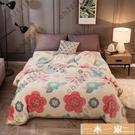 毛毯 珊瑚絨毯子薄款單人夏季小毛毯被子夏天法蘭絨空調毯午睡毯 一木一家