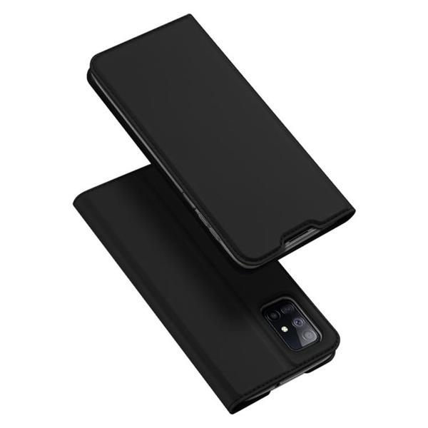 Dux Ducis 掀蓋殼 三星M51 手機殼 翻蓋皮套 磁吸 三星 Galaxy M51 商務保護殼 手機套 支架插卡