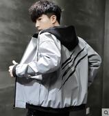夾克男士外套春秋款2020新款夾克男裝韓版潮流寬鬆帥氣秋冬休閒棒球服