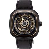 SEVENFRIDAY P2B/02 解構世界自動上鍊機械錶-47mm P2B/02
