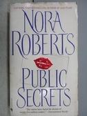 【書寶二手書T3/原文小說_MSA】Public Secrets_Nora Roberts
