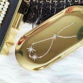 日韓國手?女微鑲鋯石女星星手鐲復古簡約首飾配飾品生日禮物