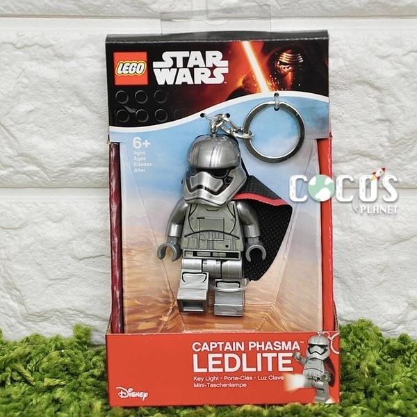 樂高鑰匙圈 星際大戰7 STAR WARS 白兵隊長 法斯瑪隊長 人偶造型LED鑰匙圈鎖圈 盒裝 COCOS LG320