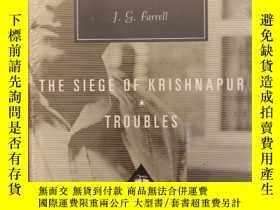 二手書博民逛書店Troubles:罕見The Siege of Krishnapur(布面精裝)Y117832 J.G. Fa