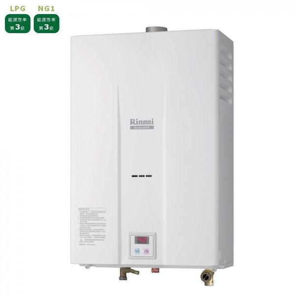 [家事達]  林內RU-B1251FE  數位控溫 強制排氣式熱水器-12L  特價