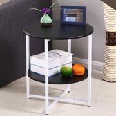 小茶几簡約迷你沙發邊几邊櫃小圓桌現代簡約客廳電話架小邊桌角几xw 免運商品