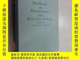 二手書博民逛書店外文書罕見HANDBOOK OF BIOCHEMISTRY AND 生物化學及分子生物學手冊 第3版 第2部分 第