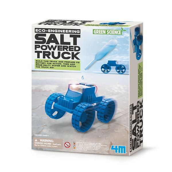 【4M】03409 科學探索-鹽水動能車 Salt-Powered Truck