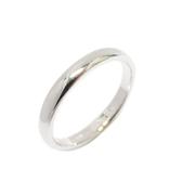 Tiffany & Co 蒂芬妮 簡約造型鉑金戒指 Band Ring 4mm 13號 PT950  【BRAND OFF】