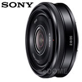 SONY E 20mm F2.8 NEX (6期0利率 免運 台灣索尼公司貨 SEL20F28) E接環專屬鏡頭