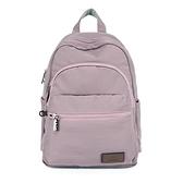 【南紡購物中心】J II 後背包-多隔層防潑水後背包-藕紫色-6390-12