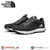 【The North Face 男 FL防水休閒鞋《黑/白》】4OA5/防水透氣野跑鞋/慢跑鞋/健行鞋