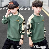 童裝男童秋裝長袖T恤2020新款洋氣中大童男孩春秋季打底衫兒童潮 Korea時尚記