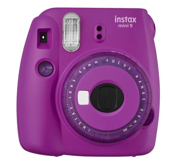 【贈束口袋+底片+相框】 Fujifilm富士 mini9 葡萄紫 拍立得相機 -平輸