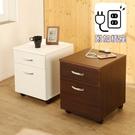 低甲醛防潑水二抽床頭櫃(含插座) 收納櫃...