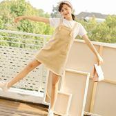 吊帶裙-純色時尚休閒百搭毛鬚邊女背帶裙73rx12[巴黎精品]