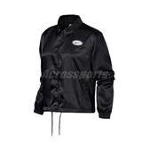 Nike 外套 NSW Satin Coach Jacket 黑 彩 女款 短版 運動休閒 【ACS】 CU5352-010
