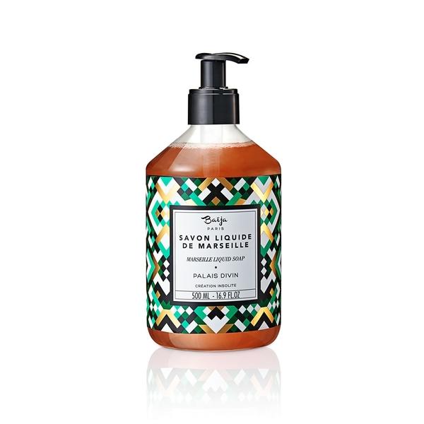 巴黎百嘉 神聖殿堂 格拉斯液體馬賽皂 500ML 法系香氛沐浴露 BAJ1750010 Baija Paris