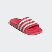 Adidas ADILETTE AQUA女款粉色防水運動拖鞋-NO.EG1743