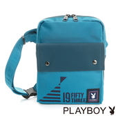 PLAYBOY- 單肩背包 活力1953系列-天空藍