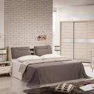 床組 6尺床頭+白像床底 艾瑪 397-4w 愛莎家居