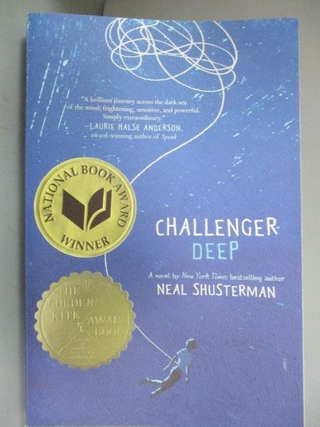 【書寶二手書T9/原文小說_NEU】Challenger Deep_Shusterman, Neal/ Shusterm