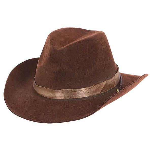牛仔帽-咖