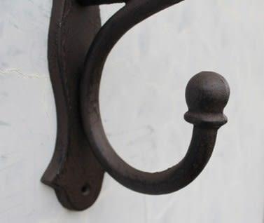 協貿國際複古鑄鐵鐵藝掛鉤1入