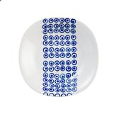 日本 波佐見燒 藍帶21.5cm湯盤