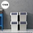 垃圾桶 收納箱 回收桶【G0069】Nplastic Ordinary 輕鬆可提式回收桶45L(兩色) 韓國製 完美主義