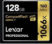 【聖影數位】 Lexar 雷克沙 Professional 128Gb 1066X 160MB/s CF高速記憶卡 公司貨