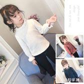 中大尺碼女童長袖T 童裝女童打底衫新款兒童上衣時尚小女孩長袖T恤寶寶冬裝 FR241『夢幻家居』
