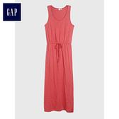Gap女裝 舒適柔軟無袖洋裝 471406-罌粟紅