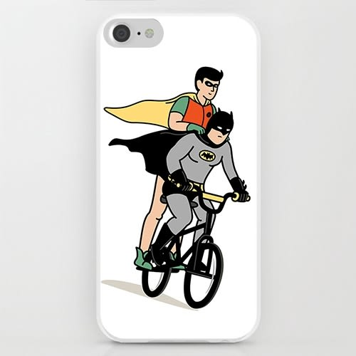 iPhone手機殼 獨家不撞。英雄愛的腳踏車 硬殼軟邊 蘋果iPhone8X/iPhone7/iPhone6/iPhone5