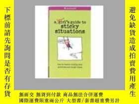 二手書博民逛書店A罕見Smart Girls Guide to Sticky Situations: How to Tackle奇