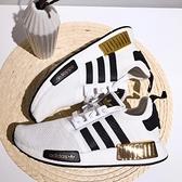 【母親節跨店現貨折後$3180】adidas NMD_R1 襪套 女鞋 休閒鞋 運動 舒適 BOOST底 白黑金 EG5662
