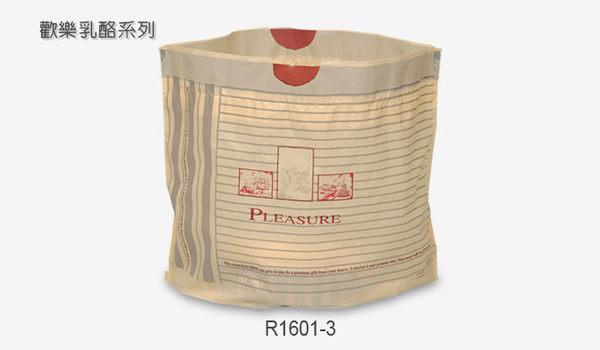 質感木紋 16-18cm 6吋 乳酪盒手提袋 塑膠袋 包裝袋 D071