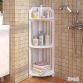 置物架 衛生間落地三角置地式三角架洗漱臺浴室收納架 BF7112『男神港灣』