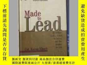 二手書博民逛書店英文原版罕見Made to Lead by Karan Khar