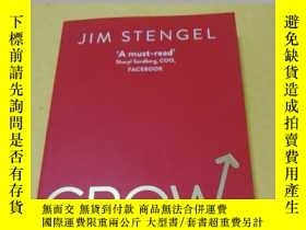 二手書博民逛書店Grow:罕見How Ideals Power Growth a