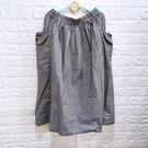 棒棒糖童裝(C2362578)女裝鬆緊腰小格子款左右側雙口袋休閒長裙