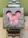 【震撼精品百貨】米奇/米妮_Micky Mouse~手錶-日本迪士尼米奇方形鐵錶/手錶-紅#21400