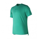 New Balance 男裝 短袖 休閒 247 反光月亮圖案 下擺開叉 綠【運動世界】AMT81548TDP