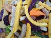 【吉嘉食品】乾燥綜合蔬菜蔬果脆片 200公克,素食[#200]{JN10}