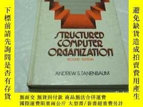 二手書博民逛書店structured罕見computer organizatio